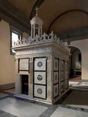 tempietto rucellai Ora visibile al pubblico il Tempietto del Santo Sepolcro della Cappella Rucellai a Firenze