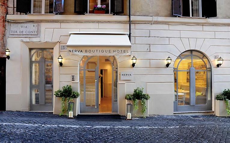 Soggiorno a Roma, hotel Nerva