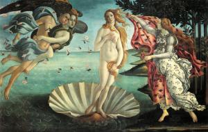 Nascita di Venere di Botticelli
