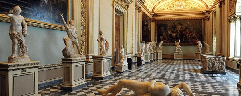 Risultati immagini per galleria degli uffizziù