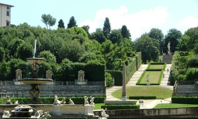 Giardino di Boboli a Firenze