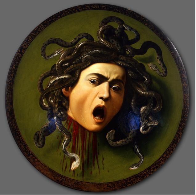 La testa di Medusa di Caravaggio