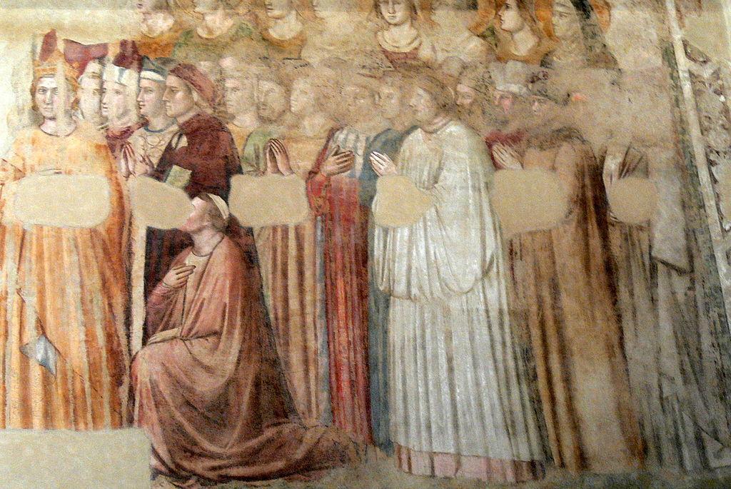 Giotto al Bargello, Cappella di Santa Maria Maddalena