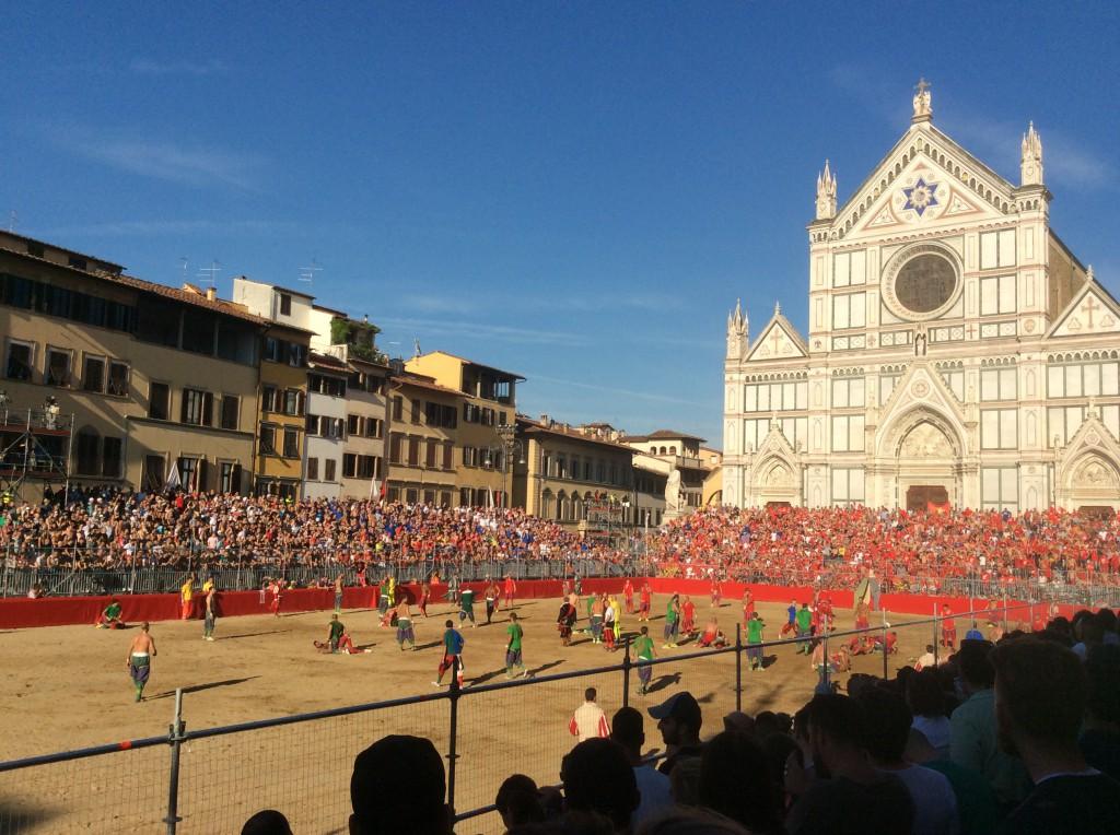 Santa Croce Calcio Storico per San Giovanni a Firenze
