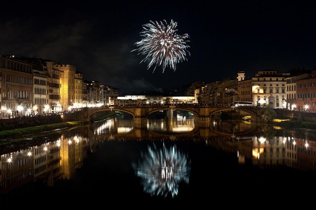 Fuochi per San Giovanni a Firenze