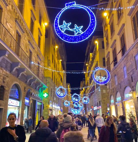 Via Calzaiuoli Firenze