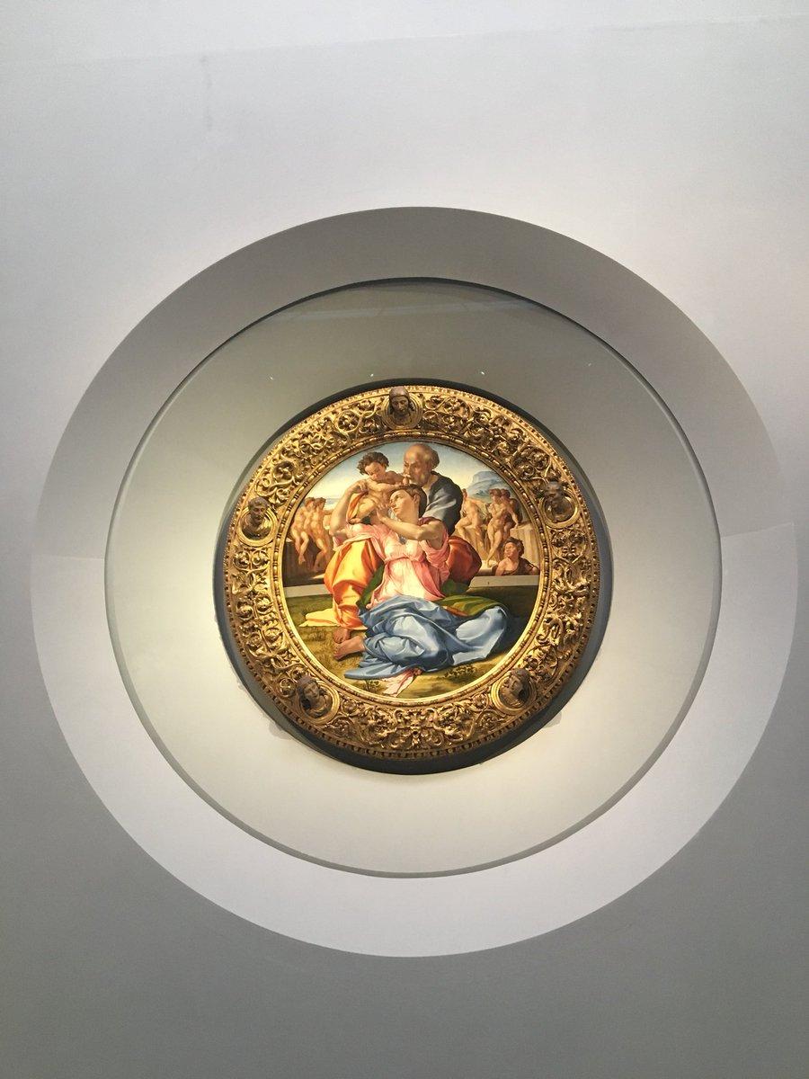 Michelangelo- il tondo Doni agli Uffizi