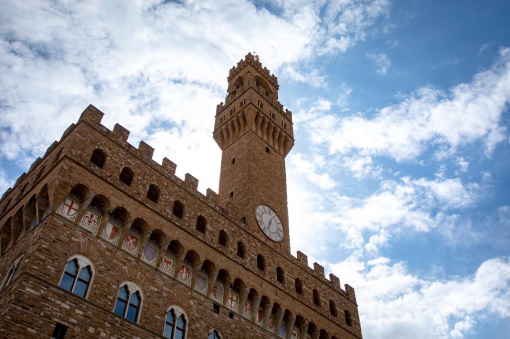 Palazzo Vecchio in Piazza della Signoria